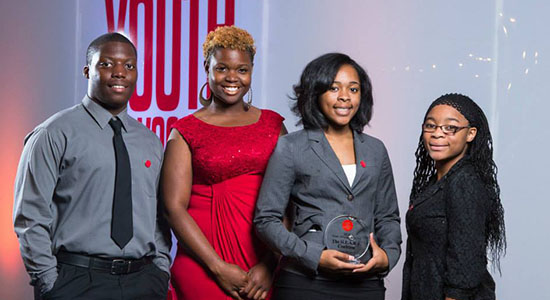 H.E.A.R.T. Coalition Youth awarded Youth Advocates of the Year Group from Campaign for Tobacco Free Kids in Washington, D.C.